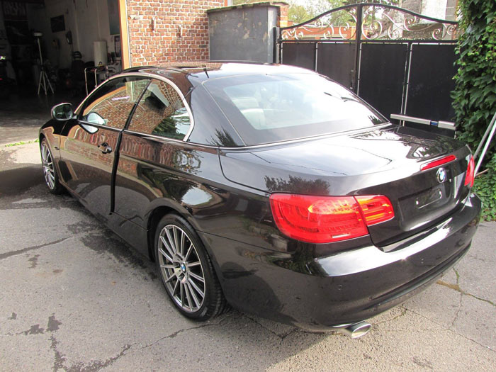 Polissage BMW coupé