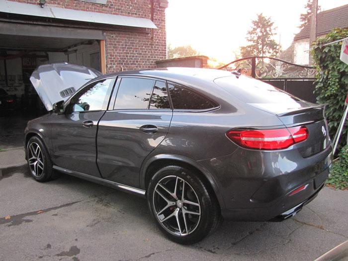 Car detailing sur GLE Mercedes